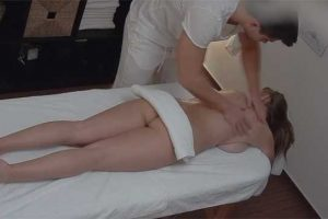 Czech Massage 349 - Petite Massaging Babe Makes Your Cock Hard
