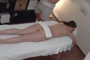 Czech Massage 353 - Sexy busty therapist gives him good orgasm