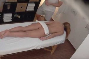 Czech Massage 356 - Husband Cheats with Masseuse with Wife in Room!