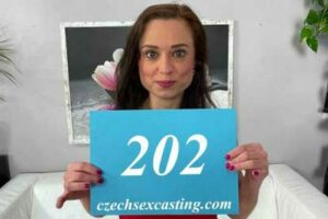Real porn audition. This girl Azoe 202 is shooting her first porn video. Watch authentic first time casting sex videos only on Czech Sex Casting.