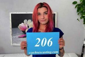 Our hotographer made this intersting Czech Katrin 206 girl with pink hair very horny so she wanted to fuck with himm very hard.